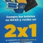 Cinépolis 2X1 en entradas al cine al comprar tus boletos en Oxxo
