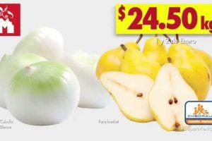 Frutas y Verduras Chedraui 1 y 2 de enero 2019