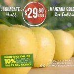 Frutas y Verduras Mega Soriana 1 y 2 de Enero 2019