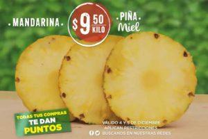 Frutas y Verduras Mega Soriana 4 y 5 de Diciembre 2018