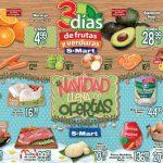 Frutas y Verduras S-Mart del 18 al 20 de Diciembre 2018