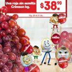 Frutas y Verduras Soriana Mercado del 1 al 3 de enero 2019