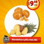 Frutas y Verduras Soriana Mercado del 4 al 6 de diciembre 2018