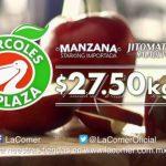 Miércoles de Plaza La Comer Frutas y Verduras 12 de Diciembre 2018