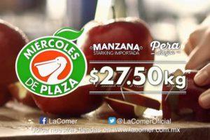 Miércoles de Plaza La Comer Frutas y Verduras 5 de Diciembre 2018