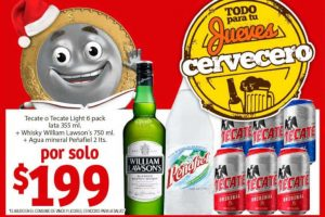 Ofertas Soriana Jueves Cervecero 27 de diciembre 2018
