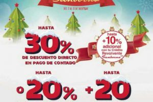 Sanborns: Naviventa Navideña del 7 al 13 de Diciembre 2018