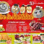 Soriana Mercado frutas y verduras del 28 al 31 de diciembre 2018