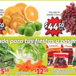 Soriana Mercado: Ofertas de Frutas y Verduras del 7 al 10 de diciembre 2018