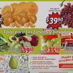Frutas y verduras en Soriana Mercado del 21 al 24 de Diciembre 2018
