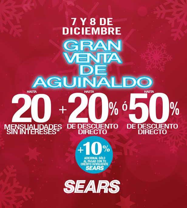 Venta Nocturna de Aguinaldo Sears 7 y 8  de diciembre 2018