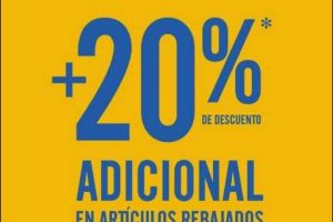 C&A Liquidación Final 20% de descuento adicional a lo ya rebajado