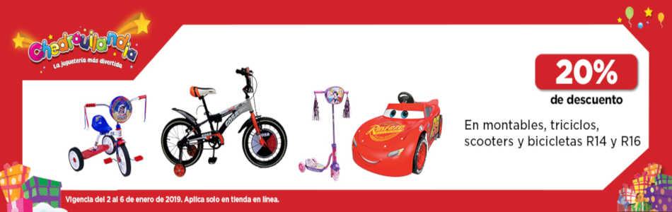 Chedraui: 20% de descuento en juguetes Reyes Magos 2019