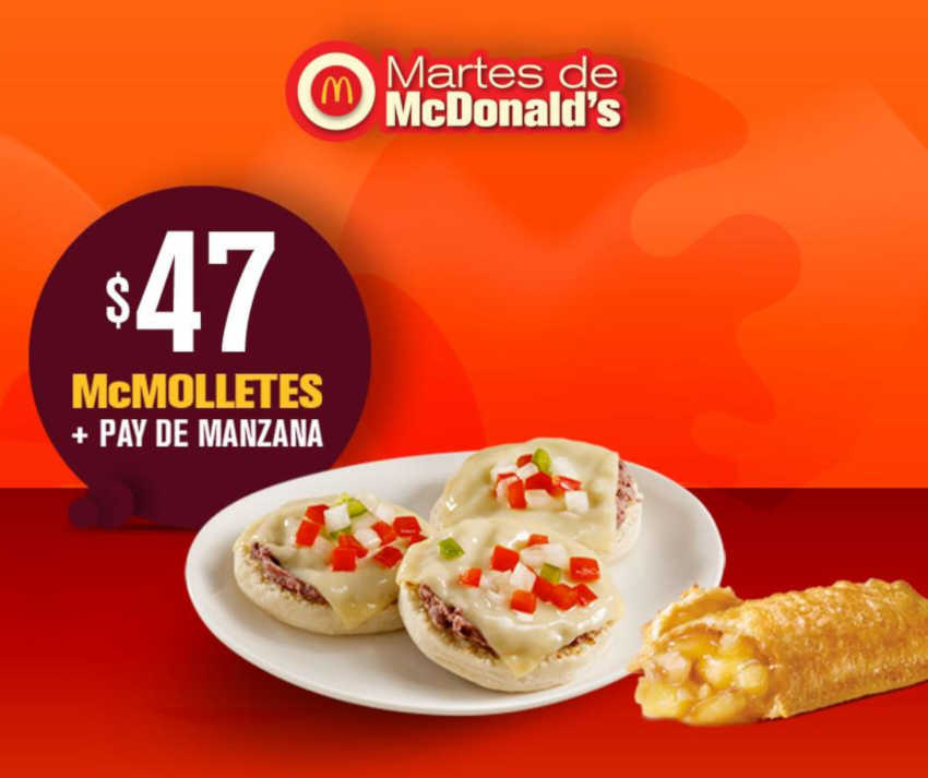 Martes de McDonald's 22 de enero de 2019