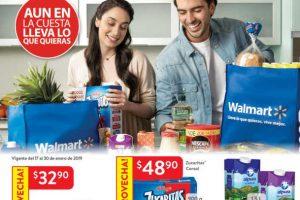 Folleto Walmart ofertas y promociones del 17 al 30 de enero de 2019