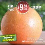 Frutas y Verduras Soriana 8 y 9 de enero 2019