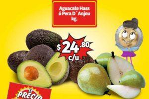 Frutas y Verduras Soriana Mercado del 29 al 31 de Enero de 2019