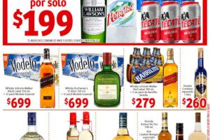 Promociones Soriana Mercado Jueves Cervecero 24 de enero de 2019