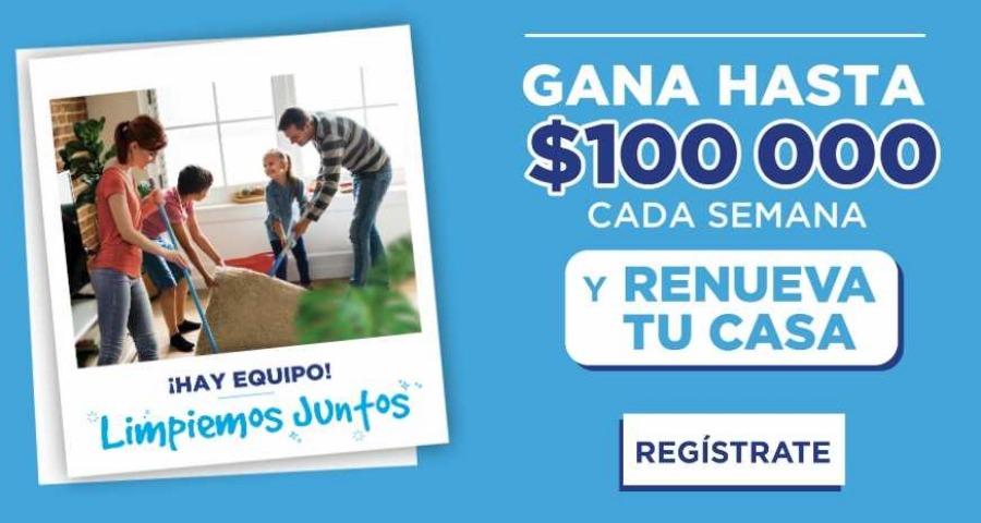 Promoción Ventaneando Gana Limpiando Juntos $100,000 Cada Semana