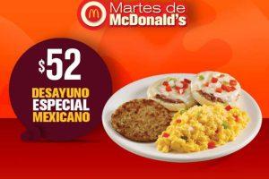 Martes de McDonald's 29 de enero de 2019