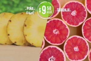 Ofertas Mega Soriana Frutas y Verduras 8 y 9 de Enero 2019