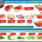 Ofertas Walmart Frutas y Verduras Fin de Semana 4 al 6 de enero 2019