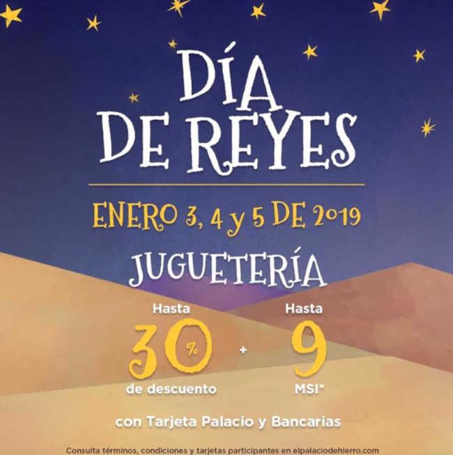 Palacio de Hierro: 30% de descuento en juguetes Reyes Magos 2019