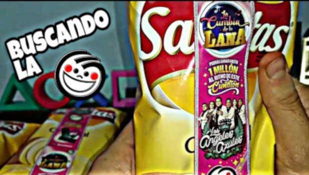Promoción La Cumbia de la Lana Sabritas Gana Hasta $1 millón de pesos