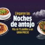 Promociones Vips Noches de Antojo 2019 Platillos a sólo $65 pesos