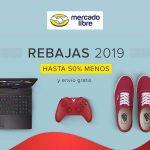 Rebajas Mercado Libre Hasta 60% de descuento Enero 2019