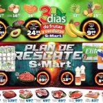 Frutas y Verduras S-Mart del 1 al 3 de Enero 2019