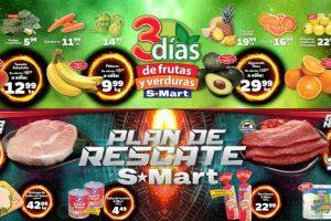 Frutas y Verduras S-Mart del 22 al 24 de enero de 2019