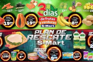 Frutas y Verduras S-Mart del 8 al 10 de enero de 2019