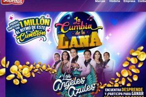 Promoción Sabritas y Gamesa La cumbia de La Lana Gana Hasta $1 Millón De Pesos
