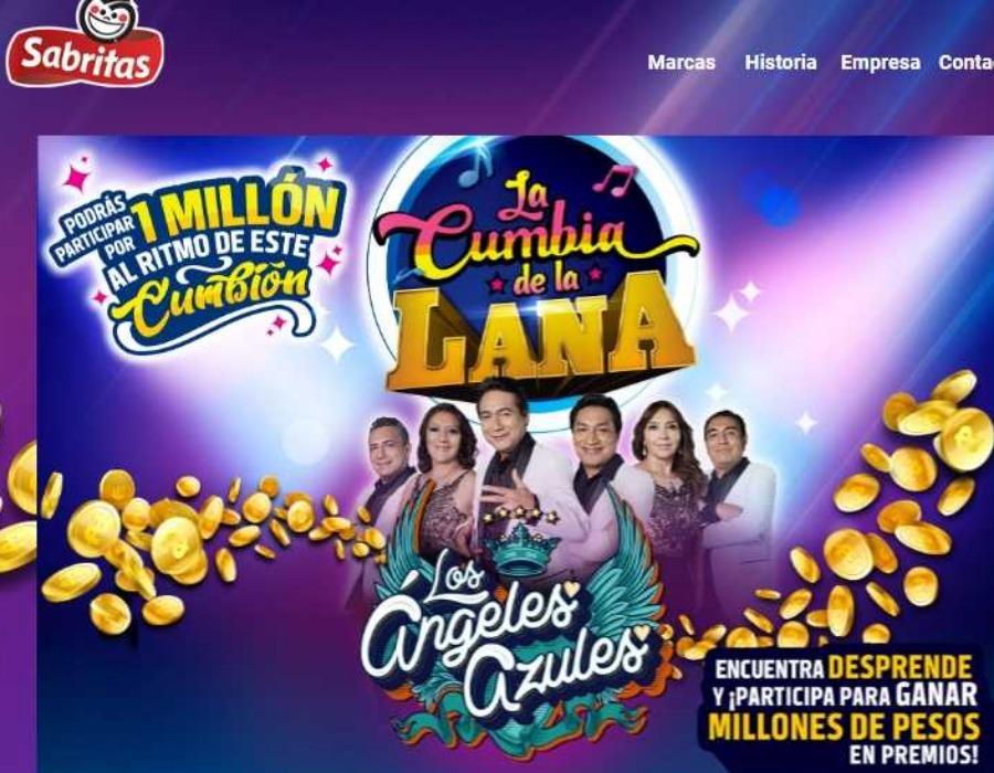 Promoción Sabritas y Gamesa La cumbia de la Lana Gana $1 Millón