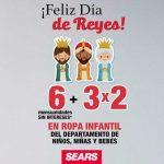 Sears: 3x2 en ropa infantil para niños y bebés Reyes Magos 2019