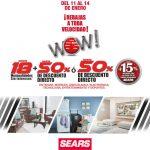 Rebajas Sears Hasta 50% de descuento + 20% adicional a lo ya rebajado