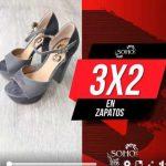 Soho Segundas Rebajas 3×2 en zapatos seleccionados