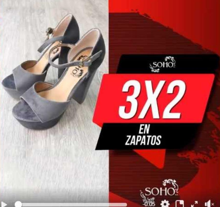 Soho: Segundas Rebajas 3×2 en zapatos seleccionados