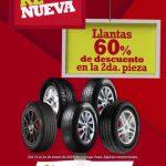 Soriana y Mega Soriana: Llantas 60% de descuento del 11 al 14 de enero 2019