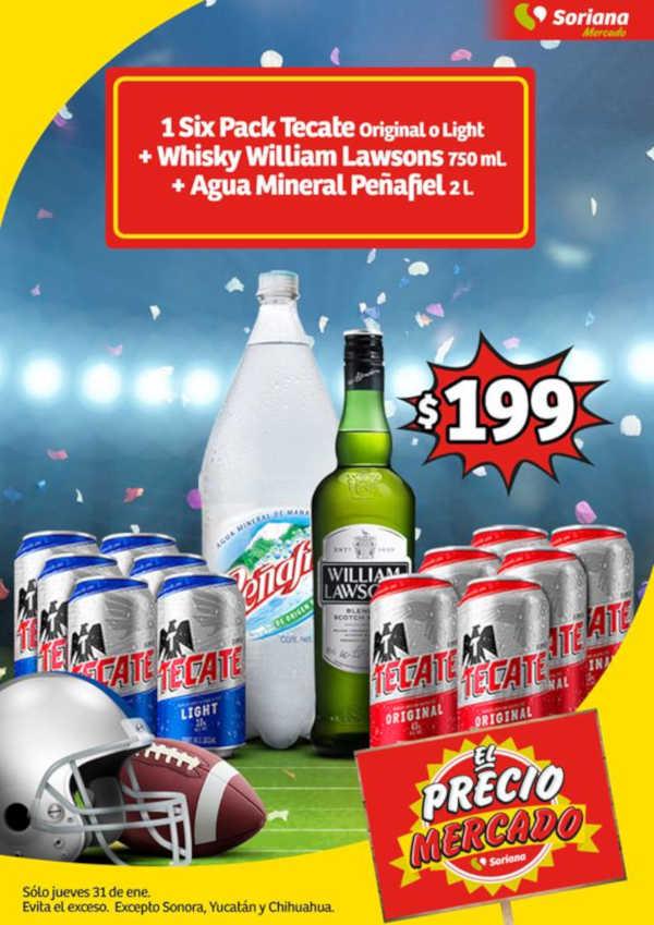Jueves Cervecero Soriana Mercado y Express 31 Enero de 2019