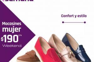 Artículo de la semana Suburbia Mocasines para dama Weekend a $170