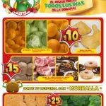 Frutas y Verduras Bodega Aurrerá del 8 al 14 de febrero de 2019