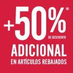 C&A: 50% de descuento adicional en productos rebajos