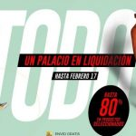 El Palacio de Hierro Liquidación Final 80% de descuento al 17 de febrero 2019