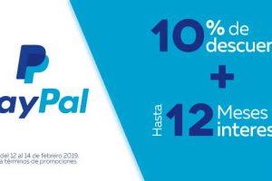 Promoción Elektra Paypal de 10% de descuento adicional + 12 meses sin intereses