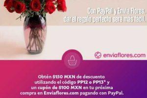 EnviaFlores Ofertas de San Valentín $150 de descuento al 13 de febrero 2019