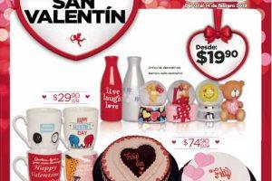 Folleto de ofertas Chedraui San Valentín del 1 al 14 de febrero 2019