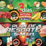 Frutas y Verduras S-Mart del 12 al 14 de febrero de 2019