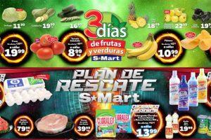 Frutas y Verduras S-Mart del 26 al 28 de febrero de 2019